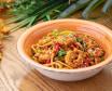 Удон с креветками в сладко-остром соусе