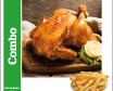 Combo: Pollo al cilindro + papas