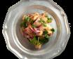 Салат з копченими баклажанами (260г)