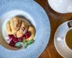 Безглютенові сирники з вишневим конфітюром (110г)