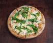 Пицца ржаная с лососем
