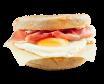Egg sandwich serrano
