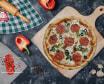 პიცა სალიამით 33 სმ
