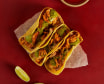 3 Tacos de pollo