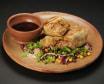 Pržena tortilja s BBQ govedinom i BBQ umakom