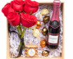 Roses y Champagne Box