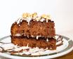 Tarta Tres Chocolates, Nueces y Almendras