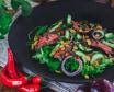 Sałatka Thai beef