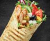 Wrap Greek Chicken