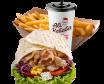Chicken kebab menu tortilja – velika