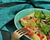 კიტრი-პომიდვრის სალათი ოჯახურად კახური ზეთით