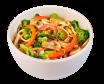 Локшина Удон з овочами XL