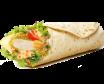 Menu Junior Wrap Chicken Spicy