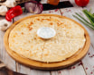 Хычины с сыром сулугуни