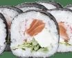 Футомакі з копченим лососем