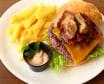 Hamburguesa de chuletón con foie