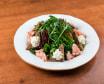Салат с семгой подкопченной (200 гр.)
