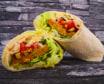 Wrap Crunchy Vege Bites & Lebanese Hummus