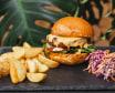 Чізбургер меню (280/100/80г)