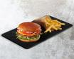 Spicy Cheeseburger + Frech Fries