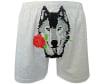 010-1473 grey melange Boxer Чоловічі труси