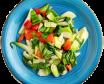 237. Teppanyaki de verduras mixtas