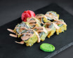 Темпура рол з лососем теріякі (240г)