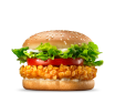 Crispy Chicken sandwich Large Menu