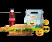Long Chicken XXL Menu + King Jr meal