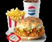 Шефбургер Увеличенный Комбо