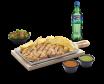 Glovo WOW: Combo filete de pollo