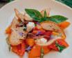 Салат з анчоусами, томатами та Рікотою (250г)
