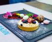 Тарта з лимонним курдом, маскарпоне та ягодами (200г)