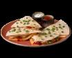 Quesadilla meksykańska z kurczakiem z sosami 300g