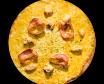 Pizza Indian Curry (mitjana)