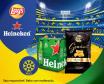 É Hora de Jogo! Heineken 6x25cl + 120gr Lays Gourmet