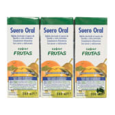Suero Oral 3x200ml Sabor Fruta