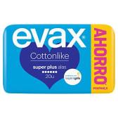 Evax compresa cotton like súper alas