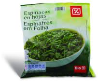 DIA Espinafres Em Folha 400 g