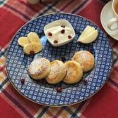 Mini Cottage Cheese Pancakes