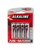 Pilha alcalina AA LR6 (Blister 4)