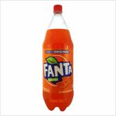 Gaseosa Fanta Naranja 2.5 L