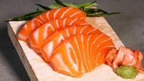 Sashimi de Salmón 4p