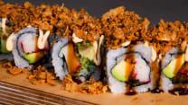 Crispy Roll con Surimi y Aguacate  8p