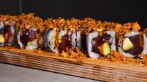 Crispy Roll Atún con Aguacate 8p