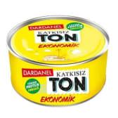 """თევზის კონსერვი /Dardanel/ თინუსი მცენარეულ ზეთში """"ეკონომიკი"""" 160გრ"""