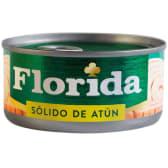 Florida Sólido de Atún en Aceite Vegetal y Sal Lata 170gr