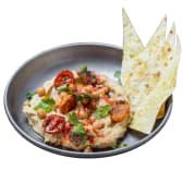 Хумус із хрустким лавашем (230г)