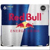 Red Bull Bebida Energizante Regular 250ml - 6Pack