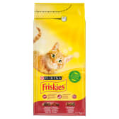 Friskies with meat, chicken and liver